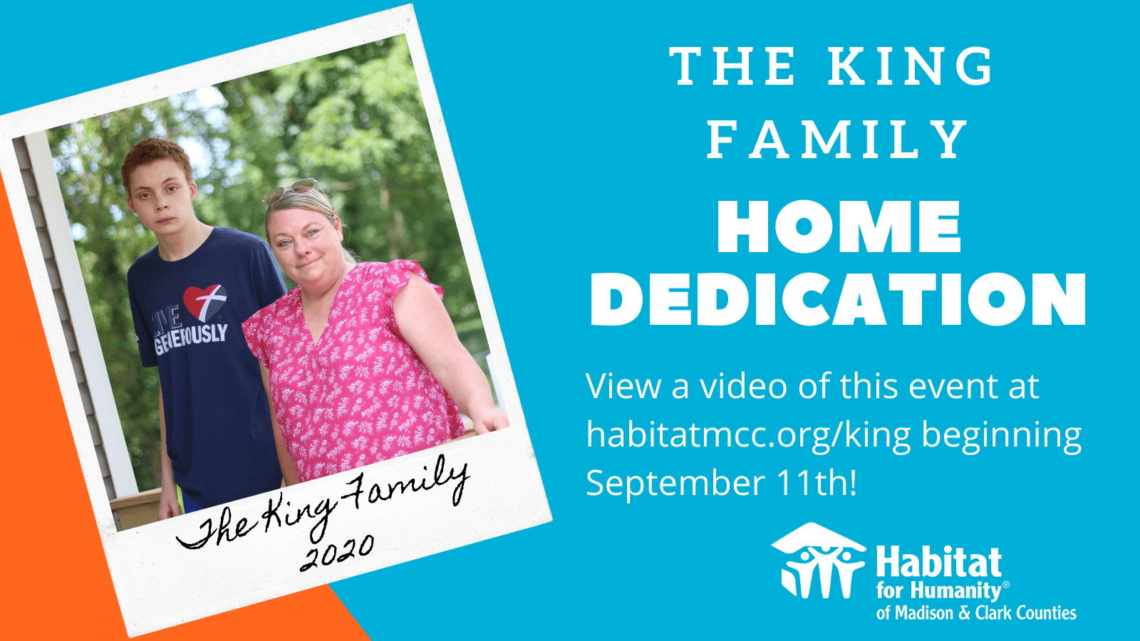 King Family Home Dedication