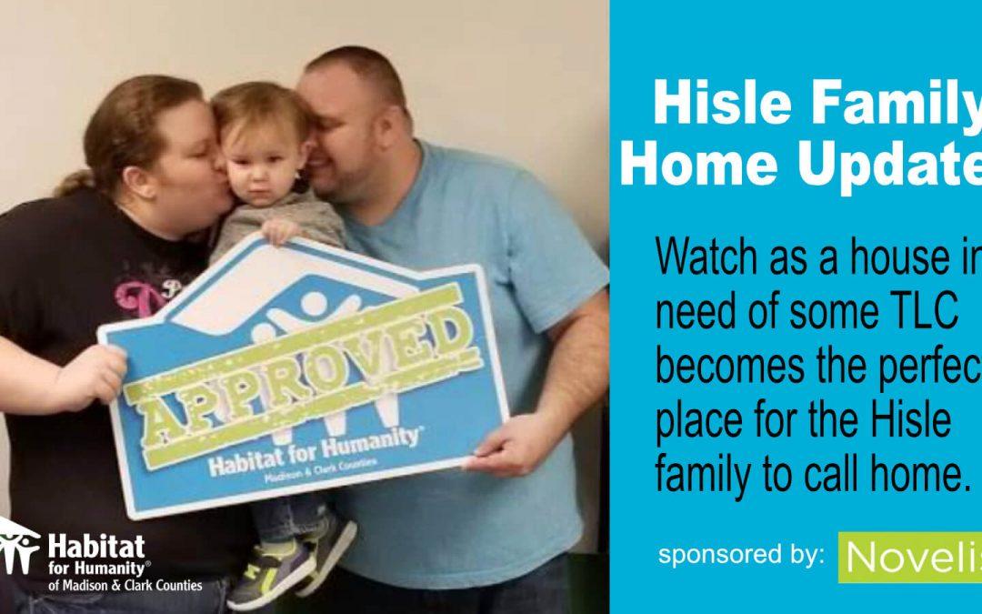 Hisle Home Progress