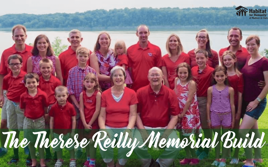 Therese Reilly Memorial Build