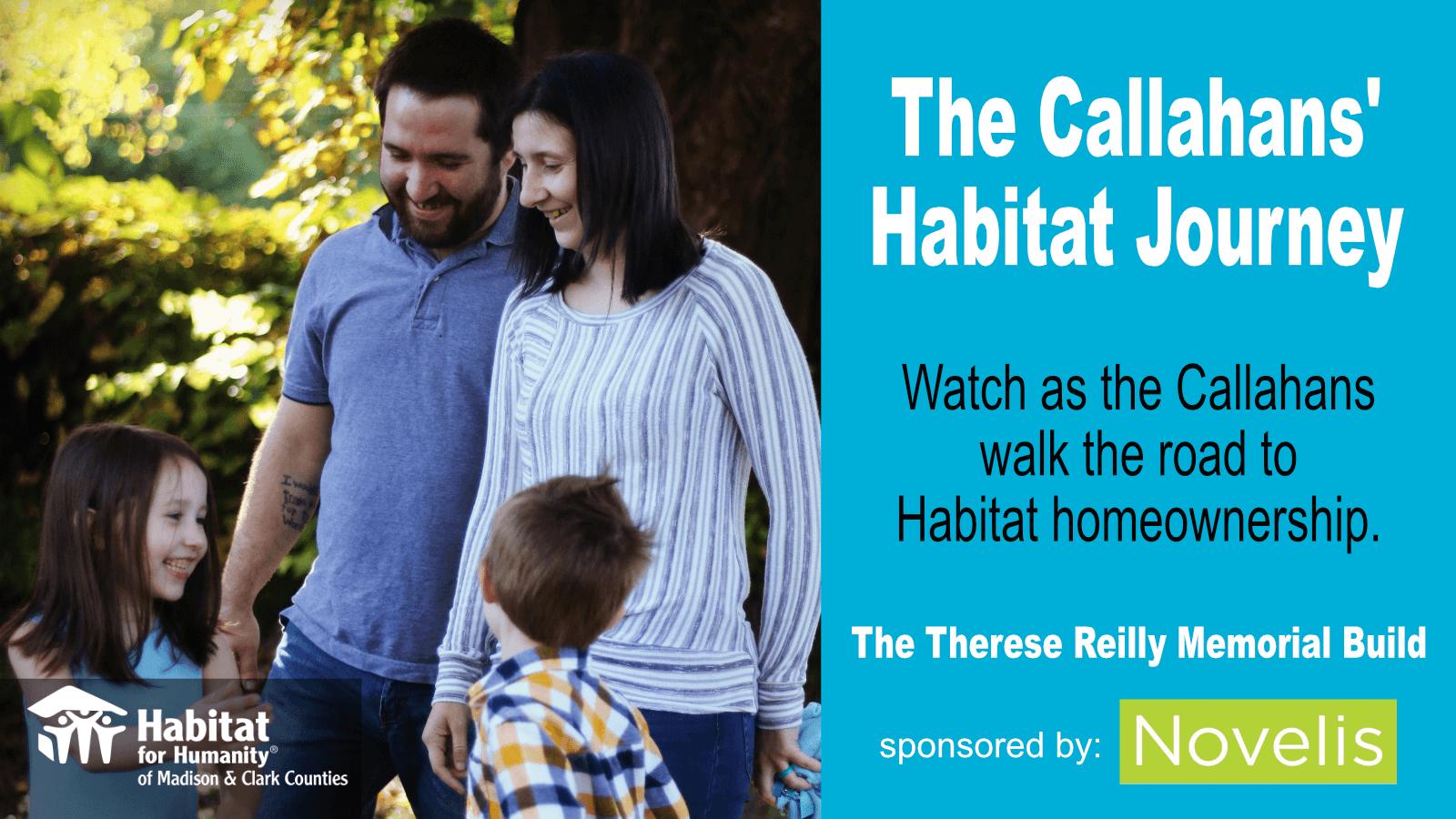 The Callahans' Habitat Journey