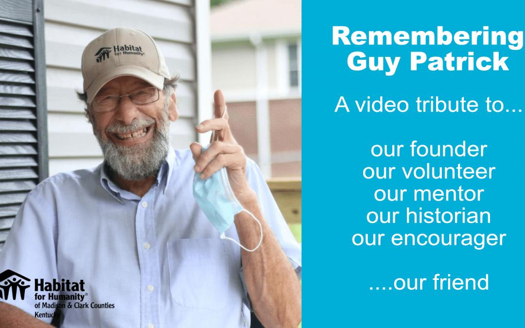 Remembering Guy Patrick